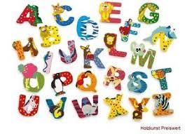 buchstaben kinderzimmer buchstaben kinderzimmer a z tiere namen türschild holzbuchstaben