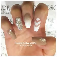 coffin ombré nails cute nails designs pinterest coffin nails