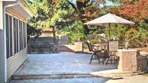 Building A Raised Patio Raised Patios Gallery Stone And Patio Professionals Pavers