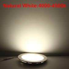 Bathroom Lighting Color Temperature 25 Watt Round Led Ceiling Light Recessed Kitchen Bathroom Lamp