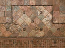 copper quartzite and bronze metal wall tile by msi stone trend