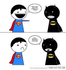 Funny Superman Memes - funny batman and superman meme pic batman win funny pics