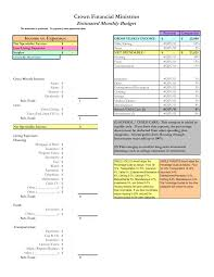 Nist Sp 800 53 Rev 4 Spreadsheet Crown Financial Ministries Budget Calculator Wolfskinmall