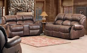 espresso reclining sofa set double reclining sofa plush pad over