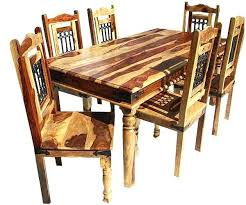 Oak Dining Room Tables And Chairs by Dining Table Furniture Of America Clarks Farmhouse Style Dining