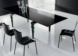 cheap glass dining room sets modern dining room furniture designers black glass table decobizz