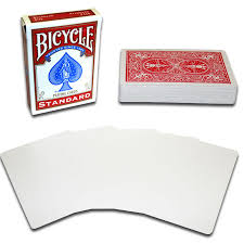 blank faces card deck fast shipping magictricks