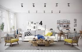 nordic chandelier living room floating shevels scandinavian living
