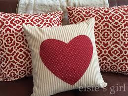 Walmart Valentine Decorations Elsie U0027s Valentine Pillows