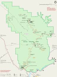Utah State Parks Map by Arches Maps Npmaps Com Just Free Maps Period