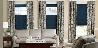 Curtain With Blinds Remarkable Curtains With Blinds Decorating With Functional Drape