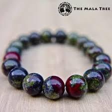 bracelet stone images Dragon stone dragon blood jasper bracelet 10mm the mala tree jpg