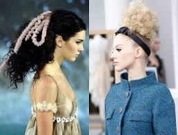 runway curly hairstyles 2017 fendi u0026 chanel hair trends 2017