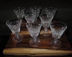 Vintage Waterford Crystal Signed 8 Inch Flower Vase In Vintage Waterford Etsy