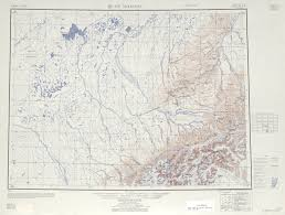Montana Topographic Map by Mt Mckinley Topographic Map Sheet United States 1952 Full Size