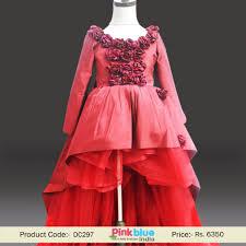 wedding dress maroon maroon high low flower girl luxury wedding dress with sleeves