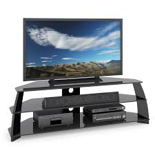corliving tap 609 t taylor extra wide glossy black tv stand with