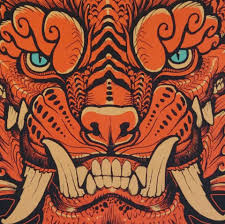 orange foo dogs foo dogs martial arts academy home