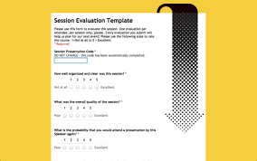 sched org blog evaluation forms for your attendees
