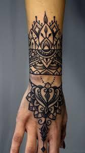 50 great looking mandala tattoos on hand