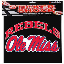 ole miss alumni sticker ole miss rebels car decals of mississippi auto decal