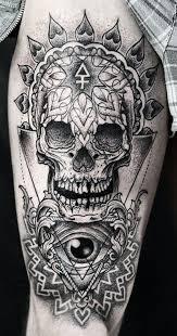 30 amazing examples of skull tattoos web design burn