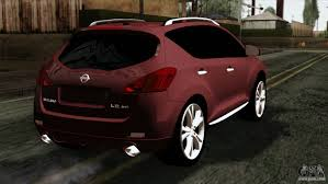 nissan murano red 2016 nissan murano 2008 for gta san andreas