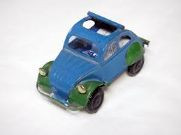 tin citroen made out of recycled cans madagascar toys