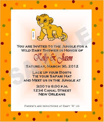 lion king themed baby shower baby shower invitations lion theme badi deanj