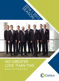 no greater love than this fall 2016 by cantus issuu