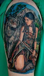 Wolf Indian Tattoos - 40 cool tattoos pictures hative