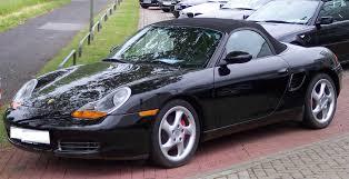 Porsche Boxster Convertible - file porsche boxster black vl jpg wikimedia commons