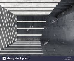 a pattern of shadow and light abstract empty concrete interior background perspective of hall