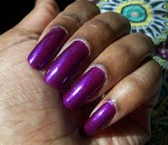 poppin u0027 nail color of the week l a colors amethyst lacquerglamour