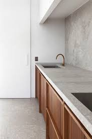 Image Result For Caesarstone Raw Concrete Counter With Light - Raw kitchen cabinets
