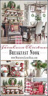 christmas in my farmhouse breakfast nook christmas breakfast
