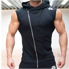 sleeveless workout hoodie hardon clothes