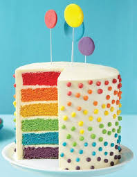 rainbow ferries tale inspired birthday cake for kids trends4us com