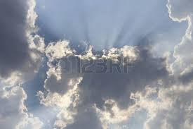 pattern of white clouds in streaks white clouds on blue sky background stock photo picture and royalty