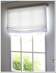 Easy No Sew Curtains Curtain Easy No Sew Window Treatments Vinyls Mounting