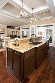 retro kitchen island retro kitchen design ideas white granite countertop in open