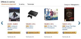 fifa 15 amazon black friday black friday week offerte amazon it i videogiochi in sconto