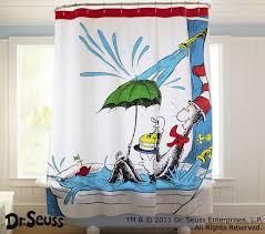 Baby Bathroom Shower Curtains by Dr Seuss Shower Curtain Boys U0027 Bathroom Ideas Pinterest