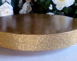 gold wedding cake stand gold cake stand etsy
