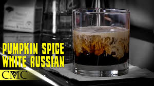 white russian drink recipe how to make the pumpkin spice white russian fall cocktails