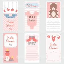 Baby Shower Invitations Card Baby Shower Invitation Cardits A Girlbaby Shower Greeting Cardbaby
