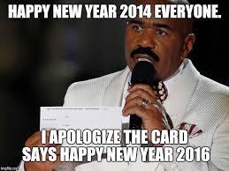 Happy New Year Meme 2014 - steve harvey imgflip
