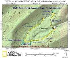 New York Appalachian Trail Map by Rsf Bearmeadows Jpg