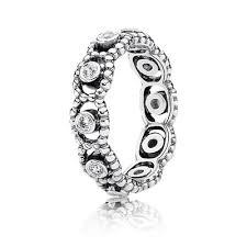 Pandora Wedding Rings by Her Majesty Ring Clear Cz 190881cz Rings Pandora