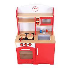 childrens wooden kitchen furniture giantex wood kitchen cooking pretend play set toddler